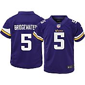 Nike Boys' Home Game Jersey Minnesota Vikings Teddy Bridgewater #5