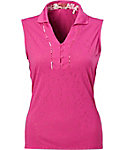 Nancy Lopez Women's Courage Sleeveless Polo