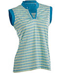 Nancy Lopez Women's Dizzy Sleeveless Polo - Extended Sizes