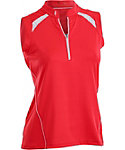 Nancy Lopez Women's Sporty Sleeveless Polo - Extended Sizes