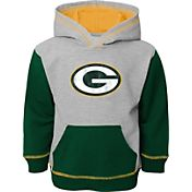 NFL Team Apparel Toddler Green Bay Packers Standard Green Hoodie