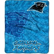 Northwest Carolina Panthers Strobe Sherpa Throw