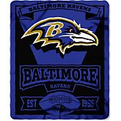 Northwest Baltimore Ravens Marquee Fleece Throw