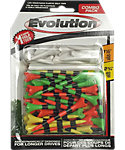 Pride Evolution 2 3/4'' & 1 1/2'' Assorted Golf Tees - 50 Pack
