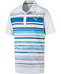 PUMA Washed Stripe Polo