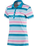 PUMA Women's Road Map Stripe Polo