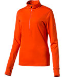 PUMA Women's 1/4-Zip Long Sleeve Popover