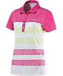 PUMA Women's Road Map Texture Polo