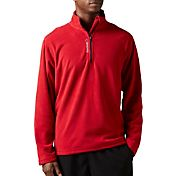 Reebok Men's Light Microfleece Quarter Zip Jacket