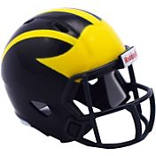 Riddell Michigan Wolverines Pocket Speed Single Helmet
