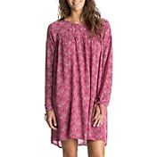 Roxy Women's Definitely Maybe Long Sleeve Dress