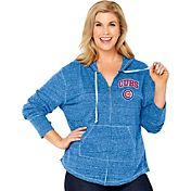Soft As A Grape Women's Chicago Cubs Royal Hoodie