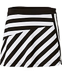 Slazenger Ignite Collection Asymmetrical Stripe Knit Skort