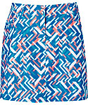 Slazenger Luminescent Collection Fracture Printed Skort