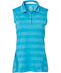 Slazenger Women's Luminescent Collection Space Dye Sleeveless Polo