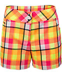 Slazenger Women's Impulse Collection Plaid Shorts