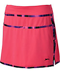 Slazenger Neon Collection Marble Trim Knit Skort