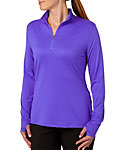 Slazenger Women's Tech Collection Space Dye 1/4-Zip