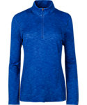 Slazenger Women's Tech Space-Dye 1/4-Zip