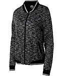 Slazenger Women's Tech Collection Space-Dye Bomber Jacket