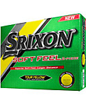 Srixon Soft Feel 10 Tour Yellow Golf Balls - 12 Pack