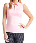 Tail Women's Classic Mesh Sleeveless Polo