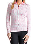 Tail Women's Mesh Inserts 1/4-Zip Pullover