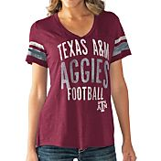 Touch by Alyssa Milano Women's Texas A&M Aggies Maroon Motion Football T-Shirt