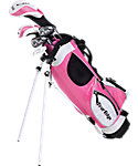 Tour Edge Kids' HT Max-J 4x1 Complete Set (Ages 9-12) - Pink