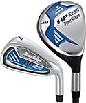 Tour Edge HP25 Hybrids/Irons - Graphite/Steel