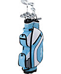 Tour Edge Women's Reaction 3 Complete Set - Blue