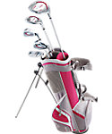 Top Flite Junior Complete Set (Ages 5-8) - Grey/Pink