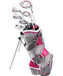 Top Flite Junior Complete Set (Ages 9-12) - Grey/Pink