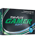 Top Flite Gamer Soft Blue Golf Balls - 12 Pack