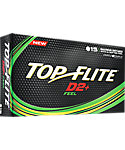 Top Flite D2+ Feel Golf Balls - 15 Pack