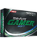 Top Flite Gamer Soft Golf Balls - 12 Pack