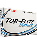 Top Flite XL7000 Super Straight Golf Balls - 12 Pack