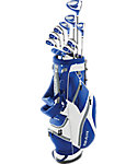 Top Flite XL Complete Set - White/Blue