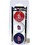 Team Golf MLB St. Louis Cardinals Golf Balls - 3 Pack