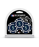 Team Golf Seattle Mariners MLB Golf Chips - 3 Pack