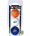 Team Golf MLB New York Mets Golf Balls - 3 Pack