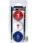 Team Golf MLB Philadelphia Phillies Golf Balls - 3 Pack