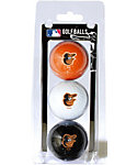 Team Golf MLB Baltimore Orioles Golf Balls - 3 Pack