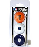 Team Golf MLB Detroit Tigers Golf Balls - 3 Pack