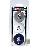 Team Golf MLB New York Yankees Golf Balls - 3 Pack