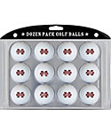 Team Golf Mississippi State Bulldogs NCAA Golf Balls - 12 Pack