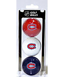 Team Golf Montreal Canadiens Golf Balls - 3 Pack