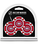Team Golf Montreal Canadiens Golf Chips - 3 Pack