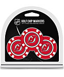 Team Golf New Jersey Devils NHL Golf Chips - 3 Pack