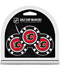 Team Golf Calgary Flames Golf Chips - 3 Pack